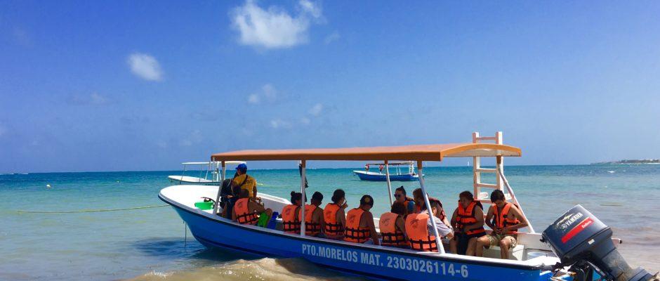 Puerto Morelos Riviera Maya Mexico Snorkeling