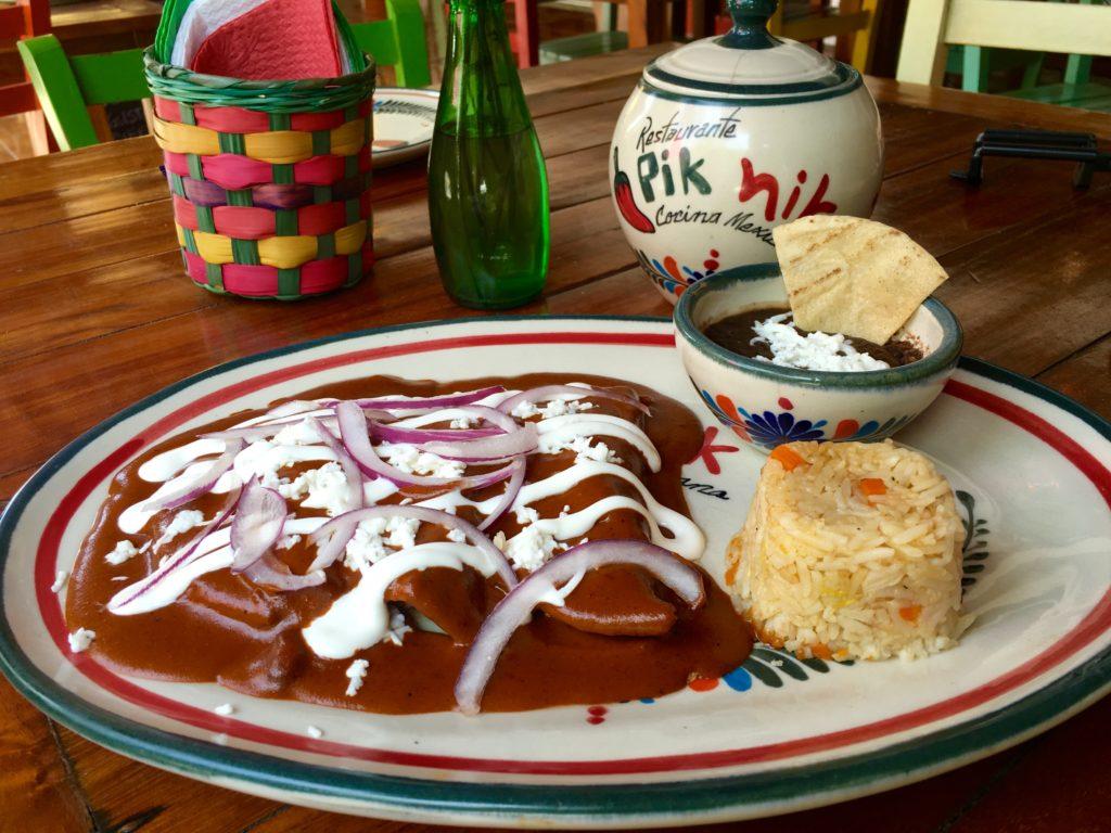 enchilada in Mexico enchiladas