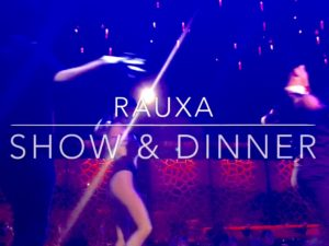 Rauxa show and dinner Riviera Maya Tulum