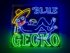Blue Gecko Restaurant in Playa Del Carmen with Tex-Mex food