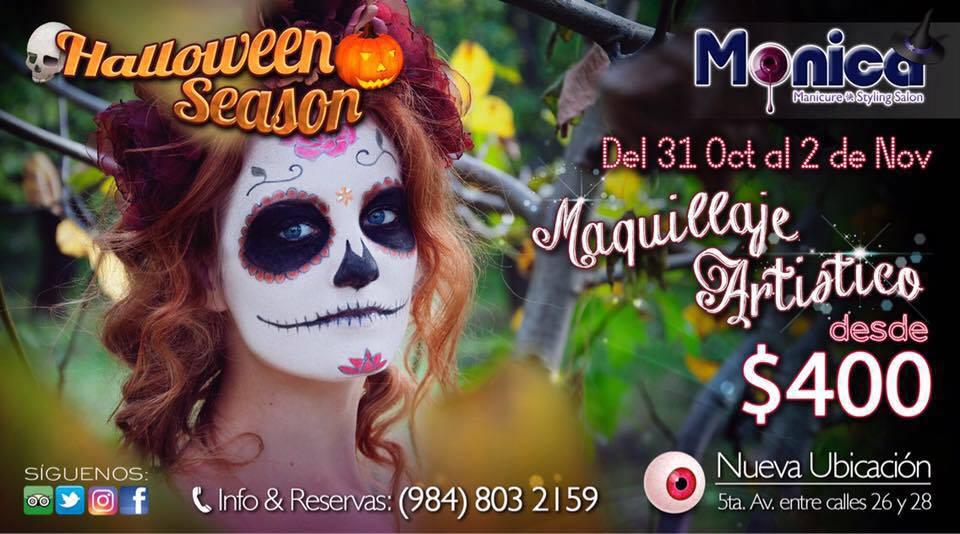Halloween in Playa Del Carmen