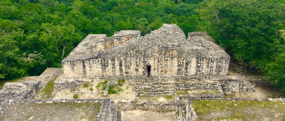 Calakmul Mayan ruins in Campeche Mexico