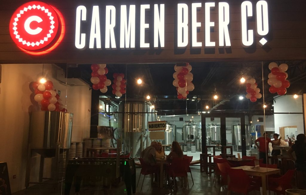 Carmen Beer Company Playa Del Carmen
