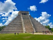 driving to Chichen Itza