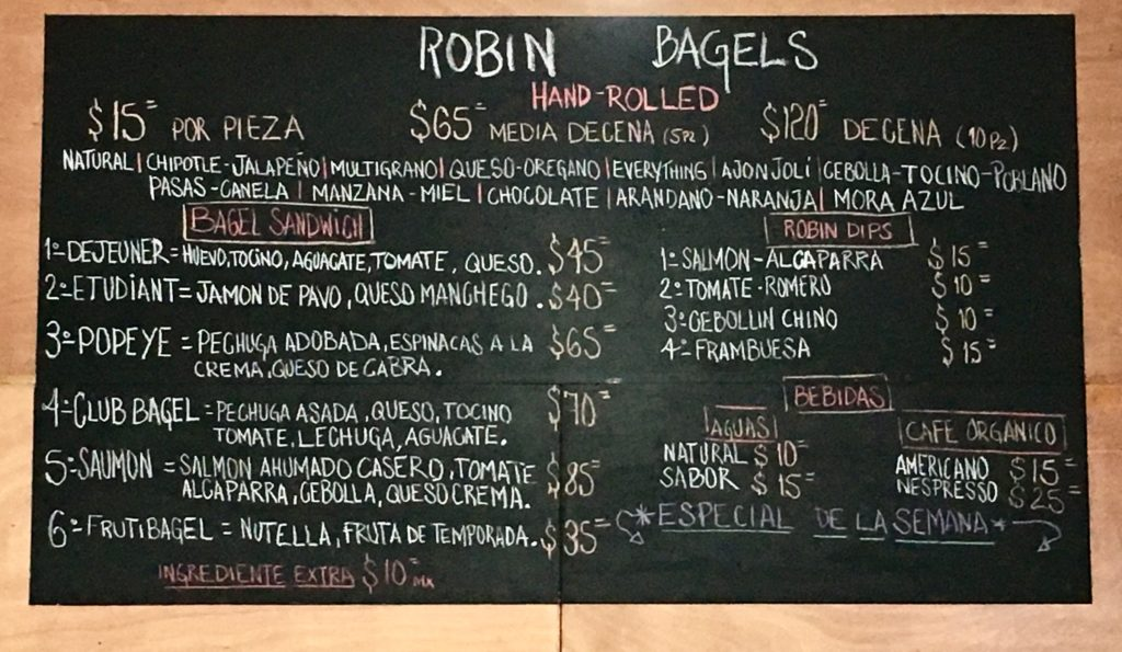 Robin Bagels Playa Del Carmen