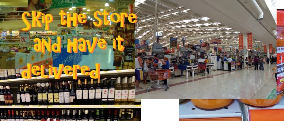 Grocery store deliver service Playa Del Carmen