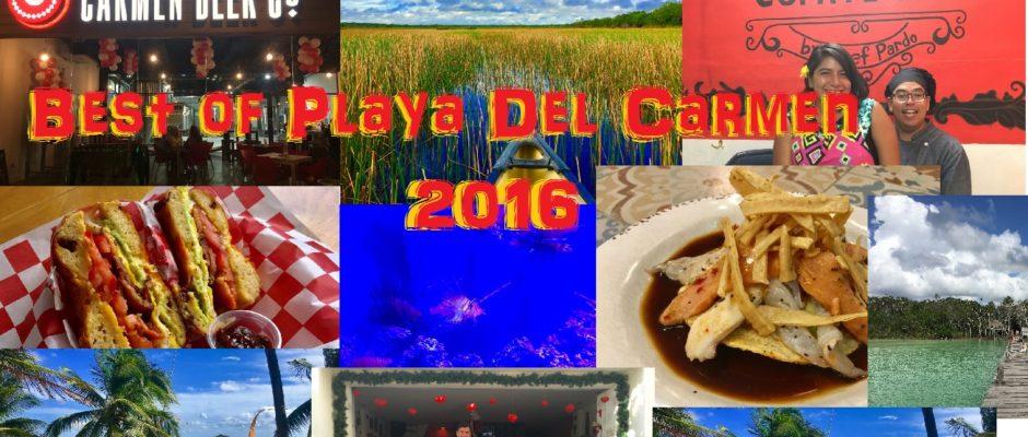 Best things Playa Del Carmen 2016