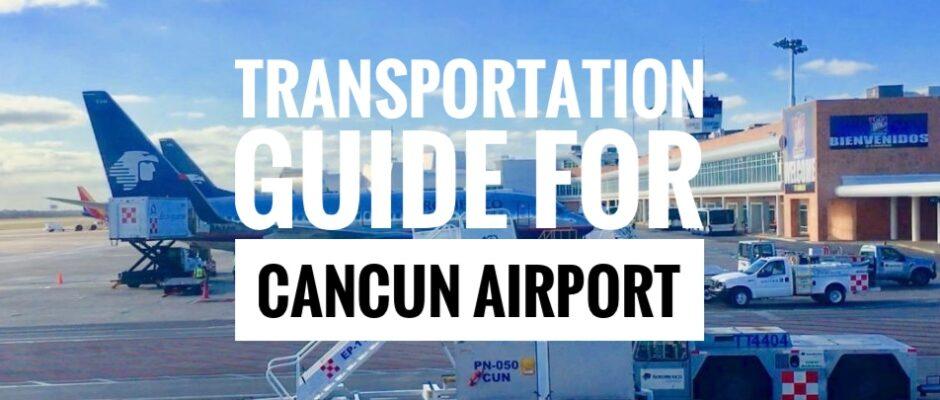 transportation Cacnun Airport