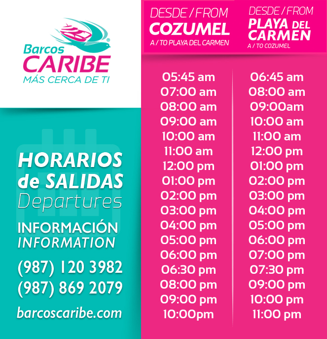 Cozumel Ferry Schedule