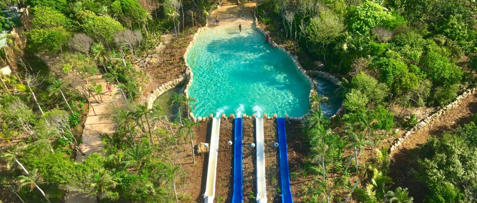 Xel Ha waterslide