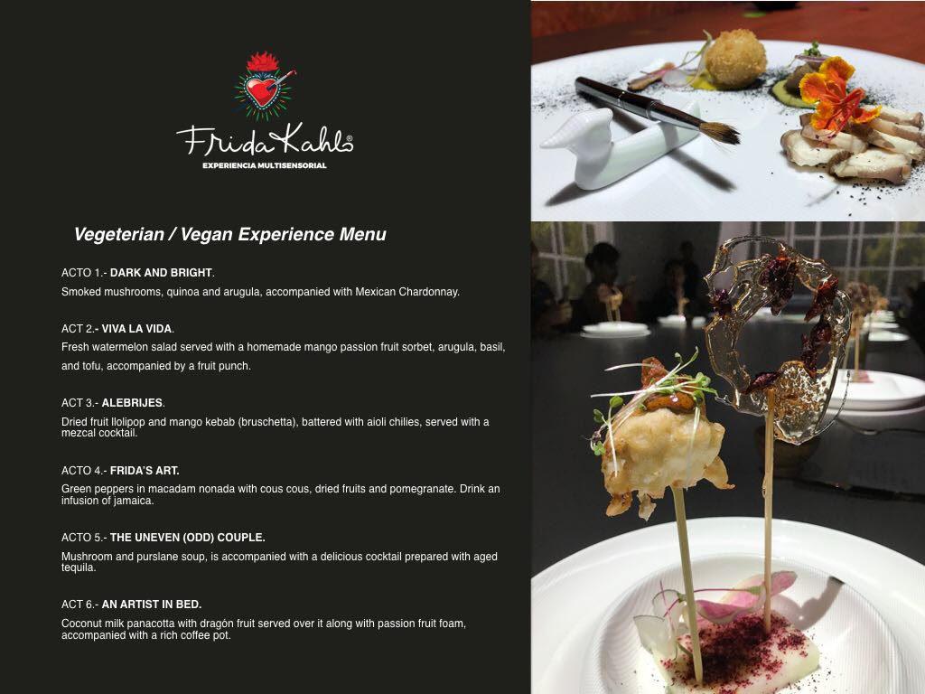 frida Kahlo Restaurant menu