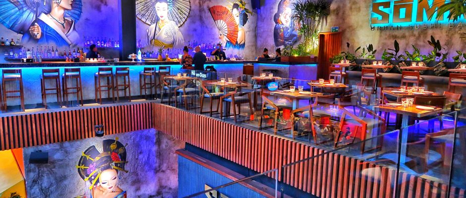 Soma Restaurant For Sushi In Playa Del Carmen Is Trendy And