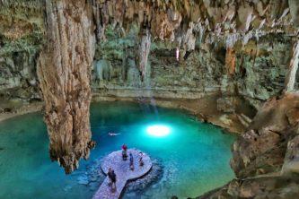 The Very Photogenic Cenote Suytun Near Valladolid