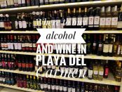 Alcohol Playa Del Carmen
