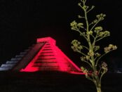 Chcichen ITza light show