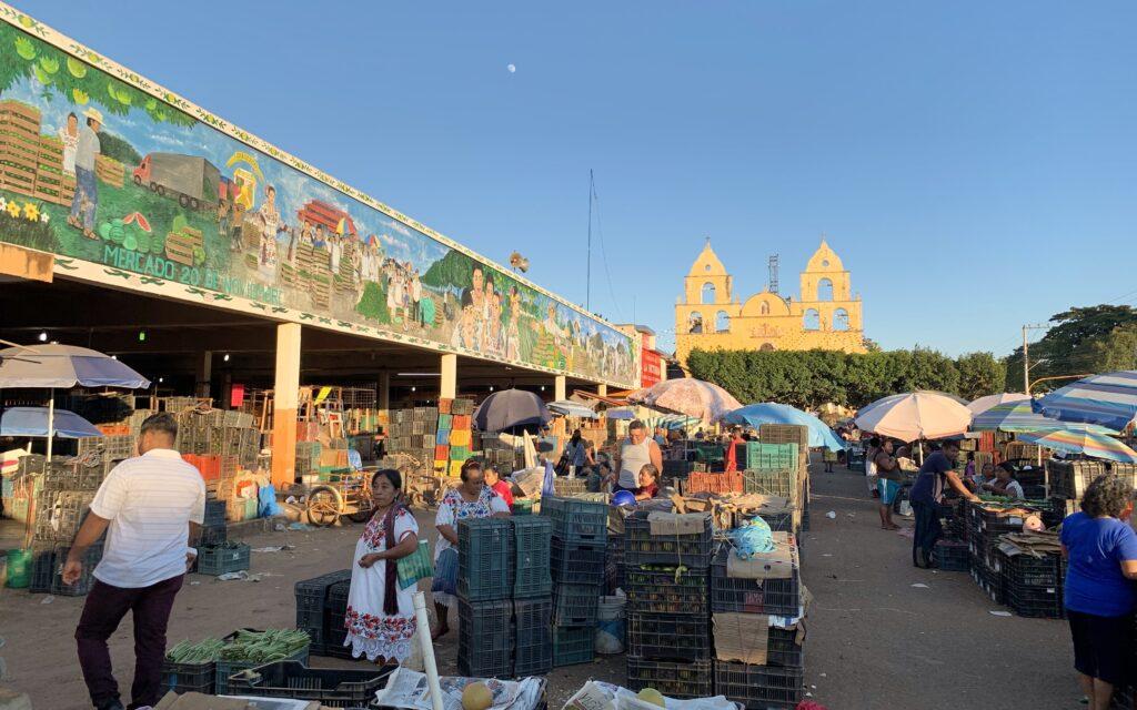 market in Oxkutzcab