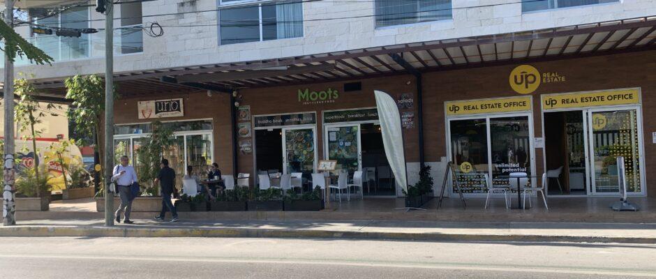 New restaurants on Constituyentes Avenue.