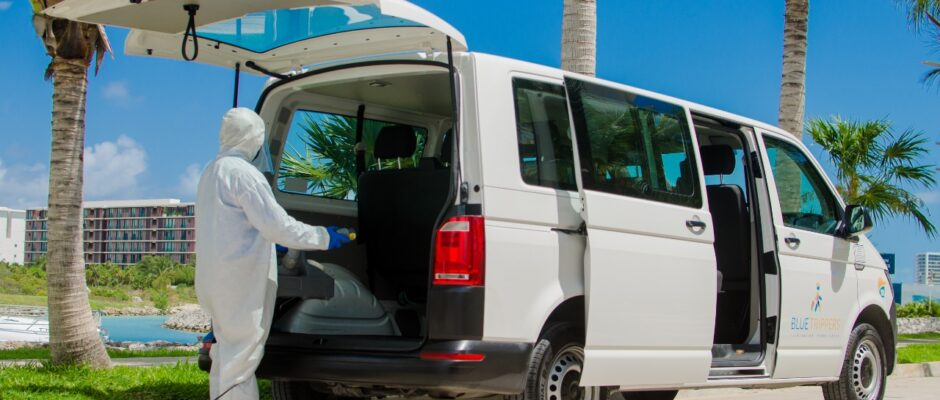 best cancun airport transportation