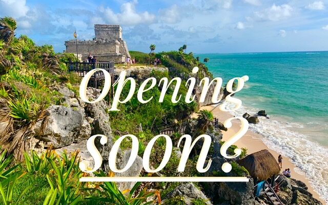 Mayan ruins open